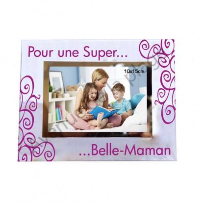 "Cadre photo ""Super Belle-Maman"""