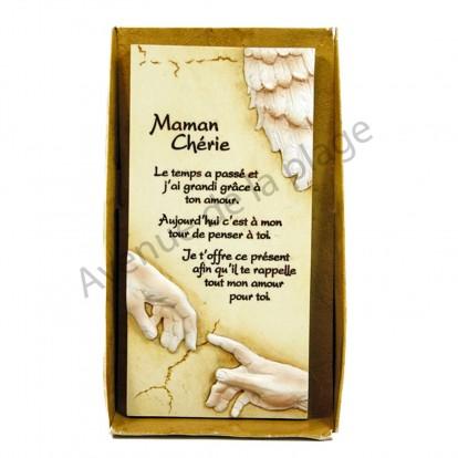 """Plaque message """"Maman Chérie"""""""