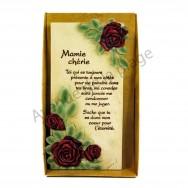 """Plaque message """"Mamie chérie"""""""