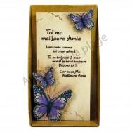 """Plaque message """"Toi ma Meilleure Amie"""""""