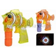 Pistolet à bulles de savon poisson clown
