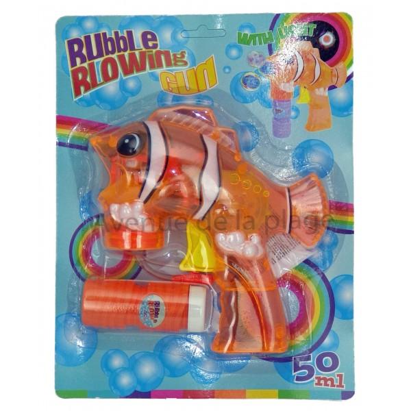 Pistolet bulles de savon poisson clown pas cher avenue for Poisson clown prix
