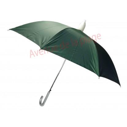 Parapluie vert avec étui télescopique