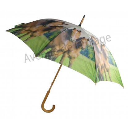 Parapluie animaux de la ferme : Chevaux