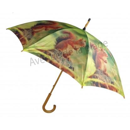 Parapluie animal sauvage : Écureuil