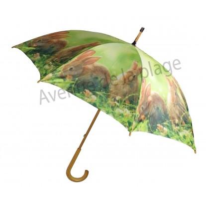 Parapluie animaux de la ferme : Lapins