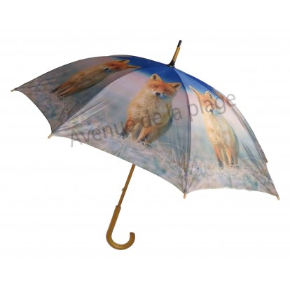 Parapluie animal sauvage : Renard