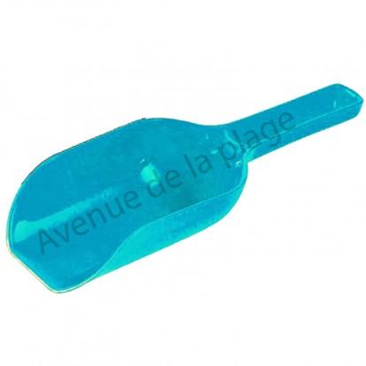 Pelle de plage farine 23 cm, bleue.