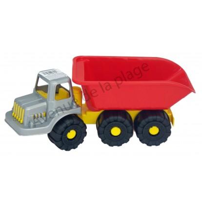 Camion de chantier 35 cm en plastique.
