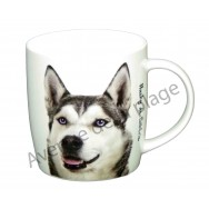 Mug chien Husky de Sibérie