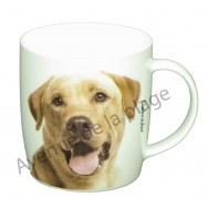 Mug chien Labrador jaune