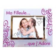 "Cadre photo ""Ma Filleule"""