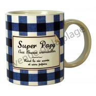 "Mug humoristique ""Super Papy"""