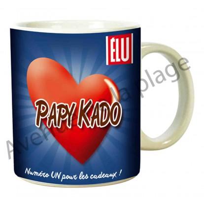 """Mug humoristique """"Papy Kado"""""""