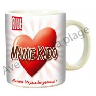 """Mug humoristique """"Mamie Kado"""""""