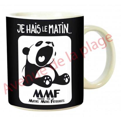 "Mug humoristique ""Panda le matin"""