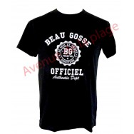 "T-shirt humoristique ""Beau Gosse Officiel"""