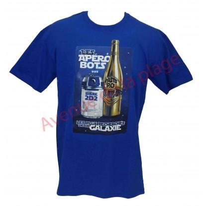 "T-shirt humoristique ""Les Apérobots"""