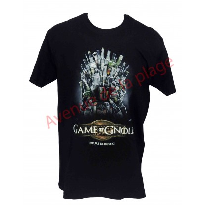 "T-shirt humoristique ""Game Of Gnole"""