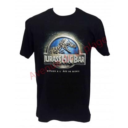 """T-shirt humoristique """"Jurass Hic Bar"""""""