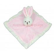 Doudou pour enfant lapin