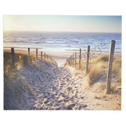 Toile imprimée : Chemin dans les dunes