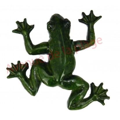 Magnet grenouille verte.