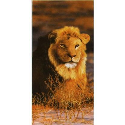 """Serviette de plage """"Lion"""""""