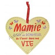 "Coeur à suspendre ""Mamie"""