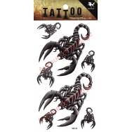 Tatouage temporaire Scorpion
