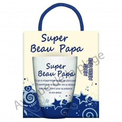Mug sentiment Super Beau Papa