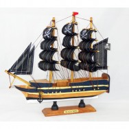 Maquette voilier Pirate Black Bird 32 cm