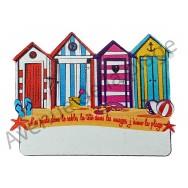 Magnet cabines de plage