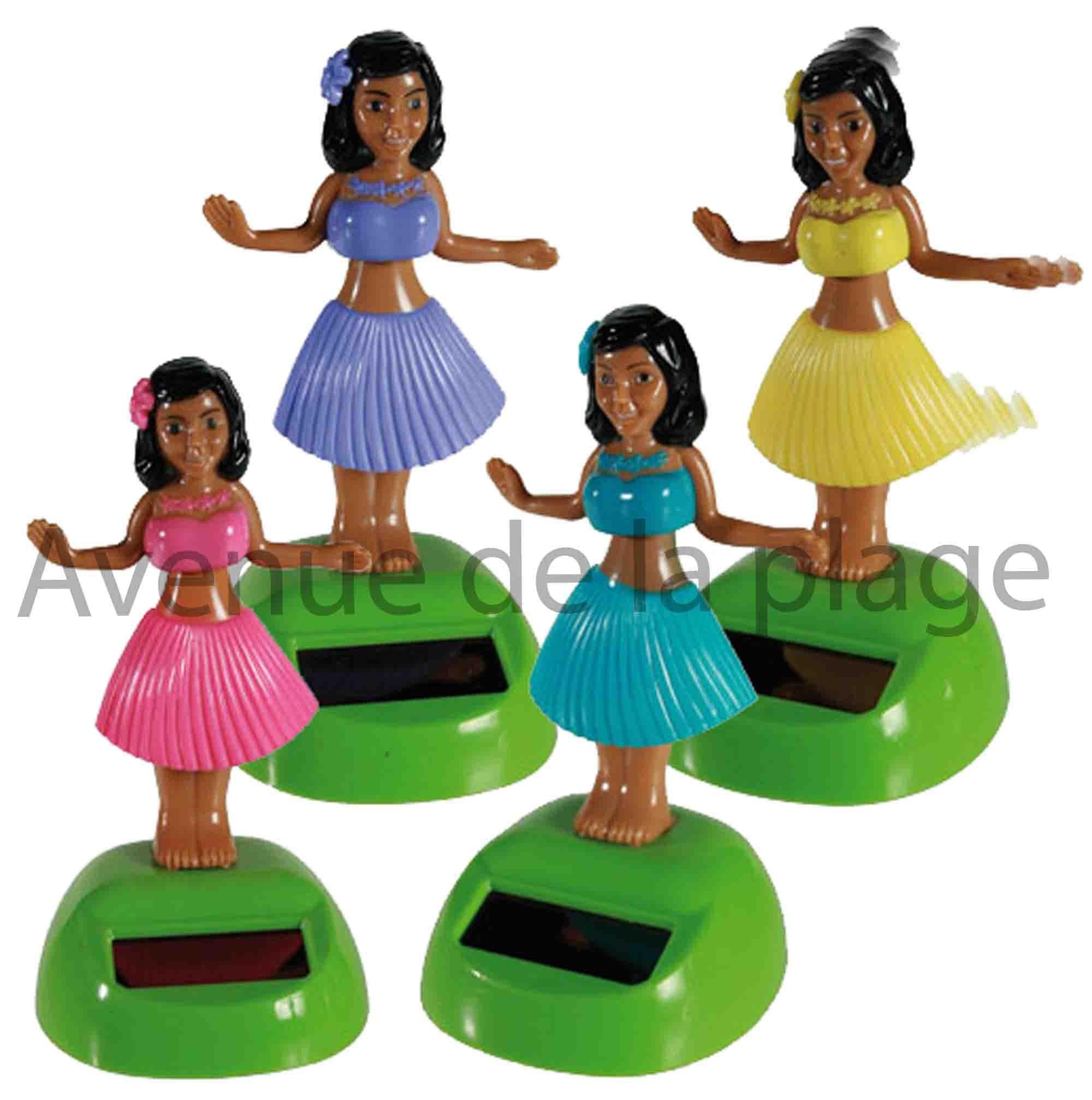 Danseuse Tahitienne Solaire Decoration Pas Cher Pour Voiture