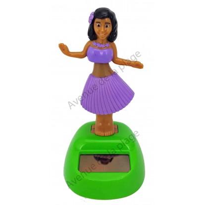 Danseuse Tahitienne solaire mauve.