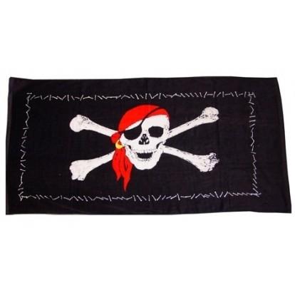 Serviette de plage pirate