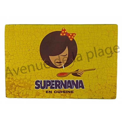 Planche à découper humoristique Supernana