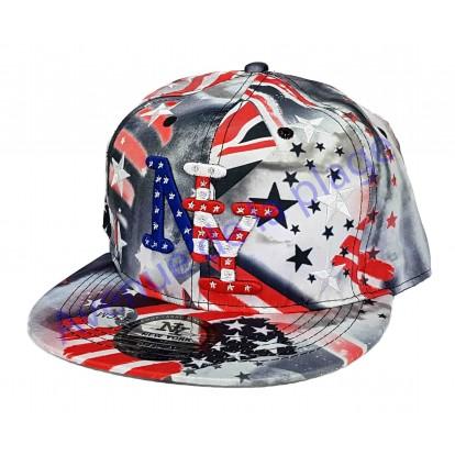 Casquette NY drapeau Américain et Anglais, casquette mode pas cher 94dd223d462
