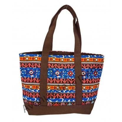 Mini sac de plage motif Aztèque, modèle A.