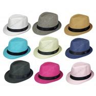 Chapeau style Borsalino pour enfant