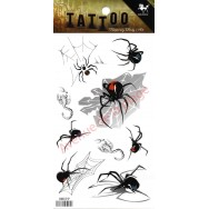 Tatouage enfant Araignée