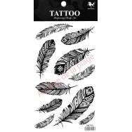 Tatouage temporaire plumes Tattoo