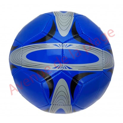 Ballon de football bleu Basic.
