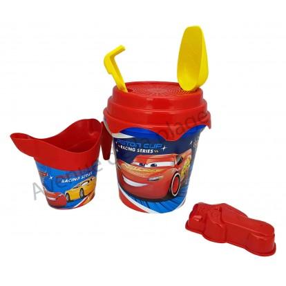 Seau de plage Cars Piston Cup