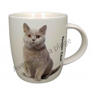 Mug chat British Shorthair