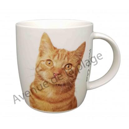 Mug chat Gingembre