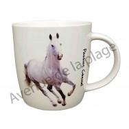 Mug cheval blanc