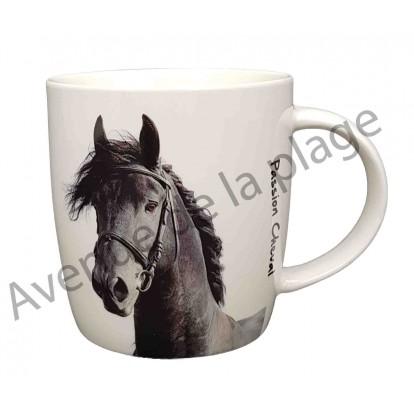 Mug cheval noir
