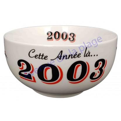 Bol année de naissance 2003