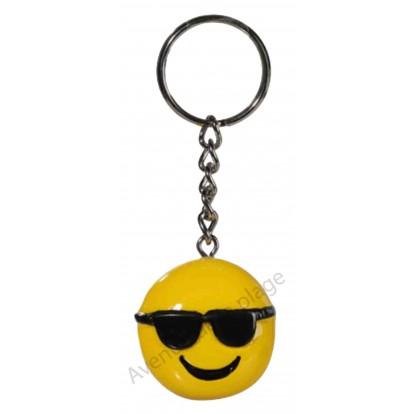 Porte clés émoticône Star